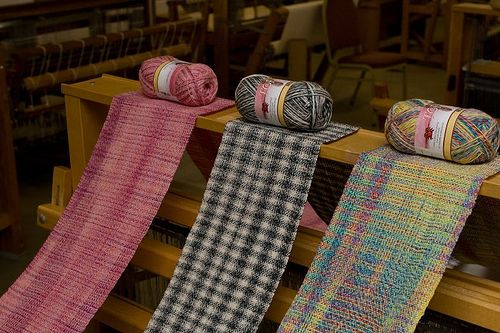 Woven Sock Yarn Scarves | Flickr - Photo Sharing!