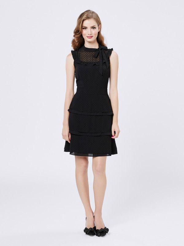Dolores Spot Dress