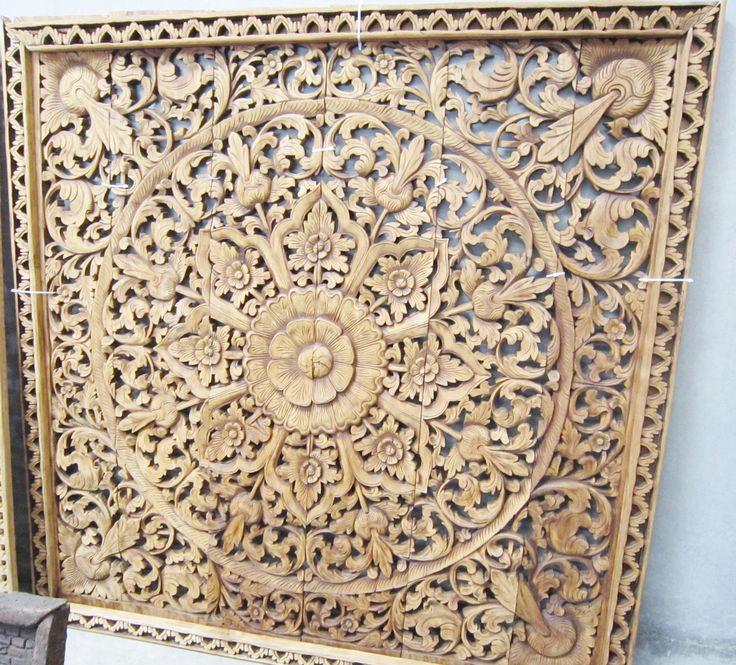 Balinese carved screen   #designisneverdone  #onekingslane