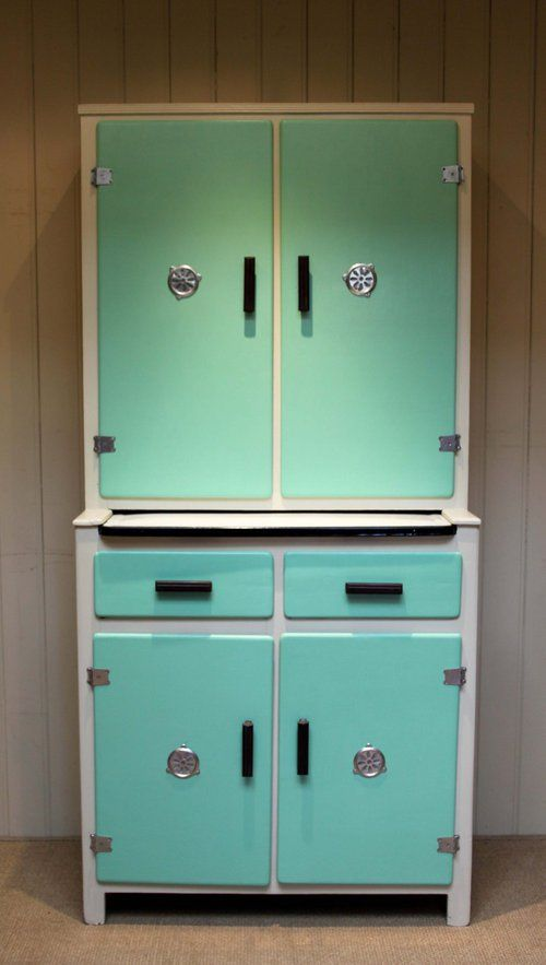 Pinterest Vintage Enamal Top Kitchen Cabinet