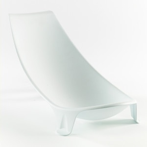 Prince Lionheart FlexiBath Infant Support: This Swoosh Of Plastic Is Molded  To Fit Over Your