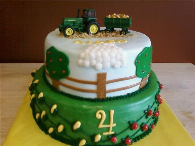 John Deere Birthday Cake!