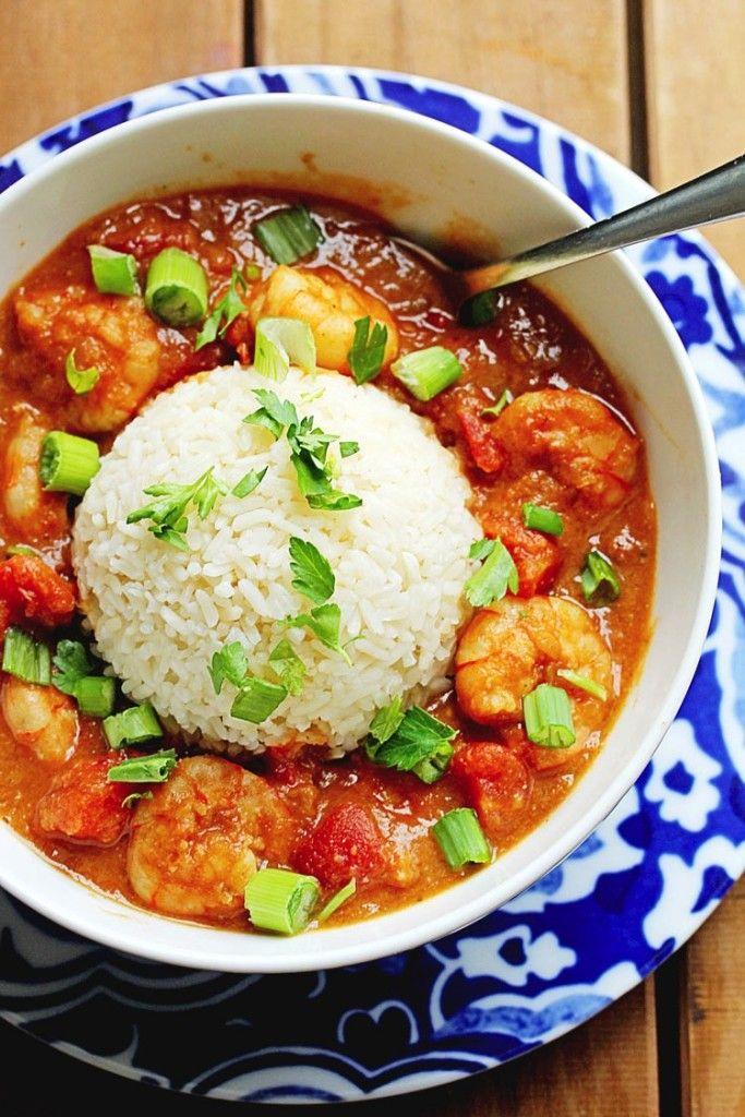 Shrimp Etouffee ~ http://www.grandbaby-cakes.com