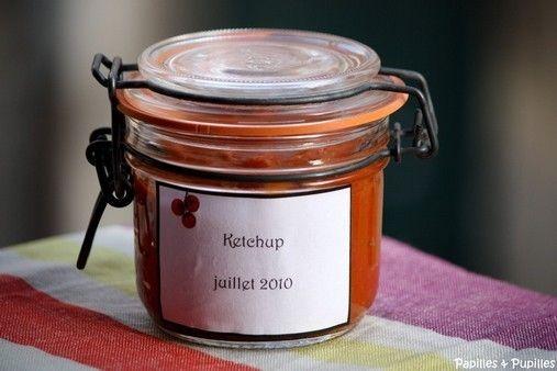 Ketchup maison [conserve] à faire avec mon thermomix cet été!