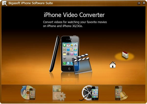 Bigasoft Iphone Software Suite A Discount Iphone Software Pack Designed For Iphone Fans Is Bundled With Four Tools I Iphone Ringtone Blackberry 9700 Software