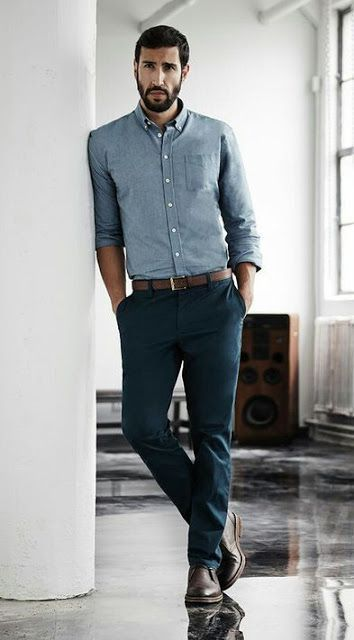 Reinvent the same pair of chinos in four different ways and look great each time.  RomeNYC.com - Clothing Boutique