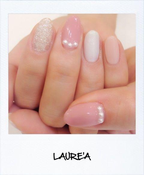 LAURE'A ピンクネイル|NAIL SALON LAUREA |Ameba (アメーバ)