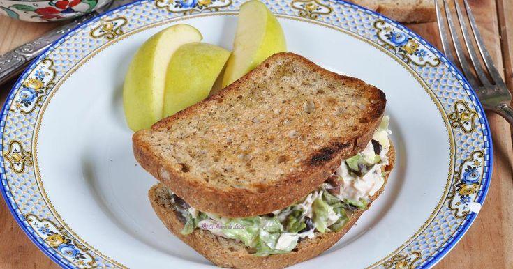 Un sándwich que gustará a todos en casa y que seguro que te resuelve la cena de más de un día. Una receta del blog EL HORNO DE LUCÍA.