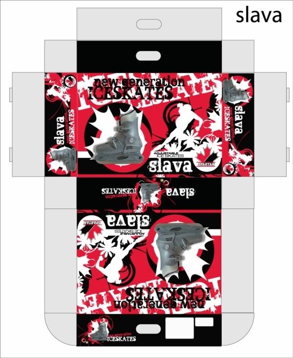 Designer : Alvin Gilbert Dc. Gonda abugonda@yahoo.com  Skates Packaging.