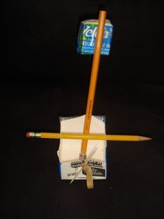 Kids Catapult using a milk carton and marshmallows-gotta show the boys this