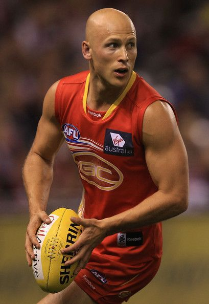 Gary Ablett from the Gold Coast Suns
