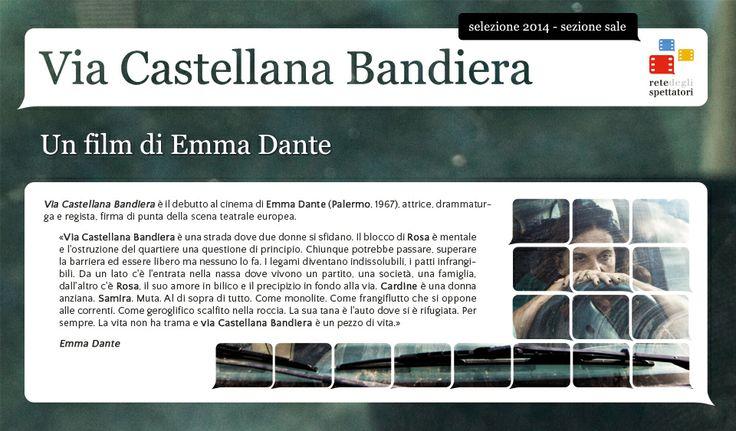 L'esordio alla regia cinematografica di Emma Dante: Via Castellana Bandiera