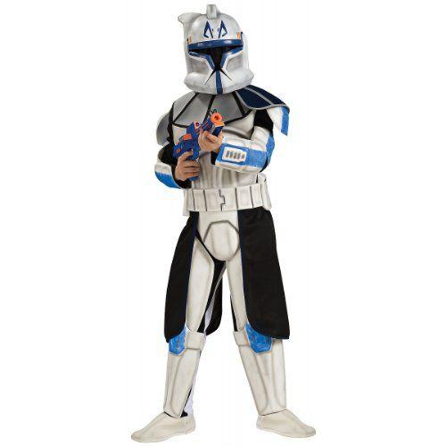 Super hallowen kids Deluxe Kids Clone Trooper Costume Rubie's Costume Co