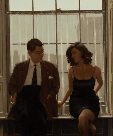 "Jack Vettriano ""Ritual Dances (study)"" Oil on canvas"