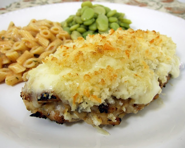 Garlic Parmesean Crusted Chicken.  Yum- can't wait to try it!!!