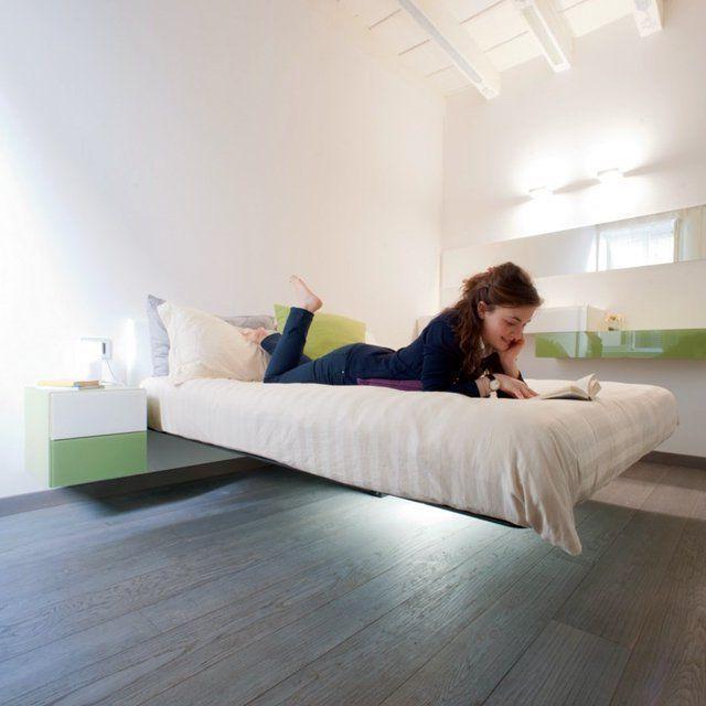 Какими бывают подвесные кровати? Удобно ли на них спать и как правильно крепить? Ответы на вопросы вы найдете в статье. 55 фотографий кроватей в интерьере