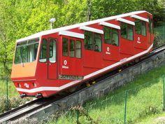 El funicular de Artxanda.