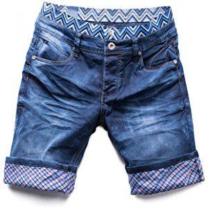 Hombres cortos de mezclilla estiramiento WAIKIKI Nr.1521