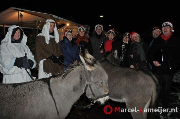 Levende (en lopende ;-) ) kerststal in 2012