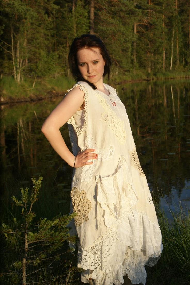 annorlunda bröllop med kläder du kan även använda sen hos oss i sunne ulvsbygarden Magnoliapearl unika plagg
