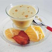 Crème de chou vert au lard grillé - une recette Entre amis - Cuisine