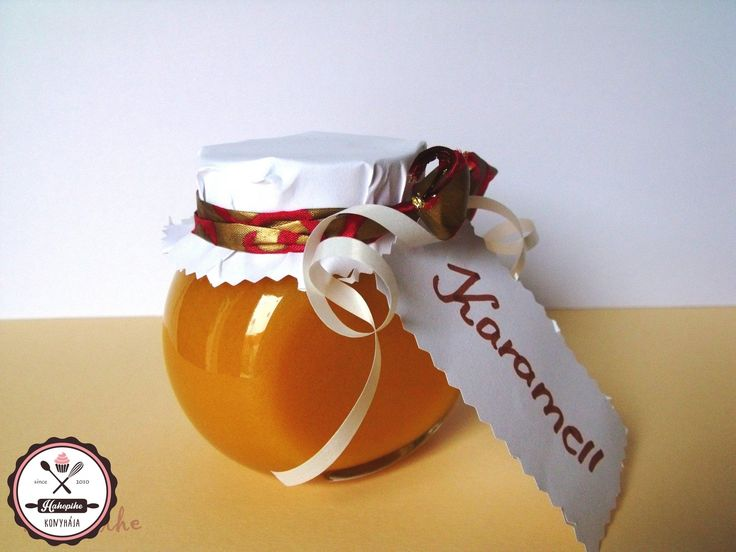 Karamell-krém mézből