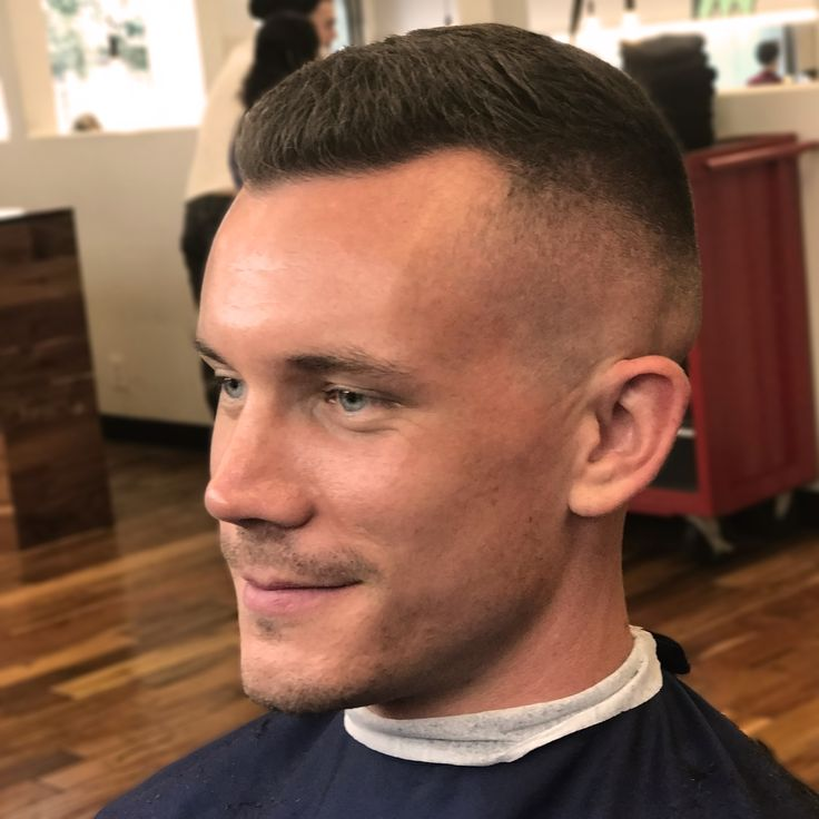 This medium skin fade was done with a razor about 1/3 the way up the head and fading into about one inch of length on top. on   http://haircutsformen.org/buzzblog/wp-content/gallery/fade-haircuts-and-tight-tapers/medium-skin-fade-haircut.jpg