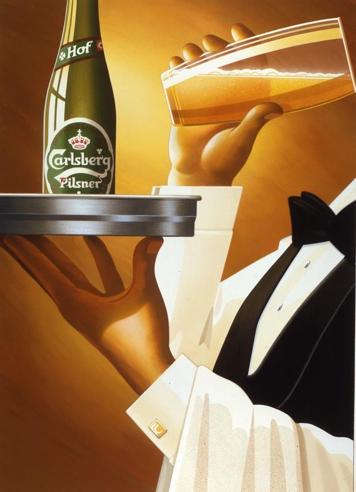 Carlsberg Poster. 1980.