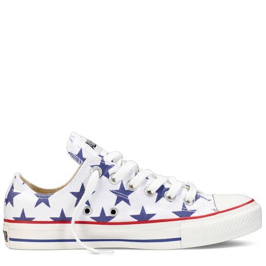 American Flag Converse Shoe Models