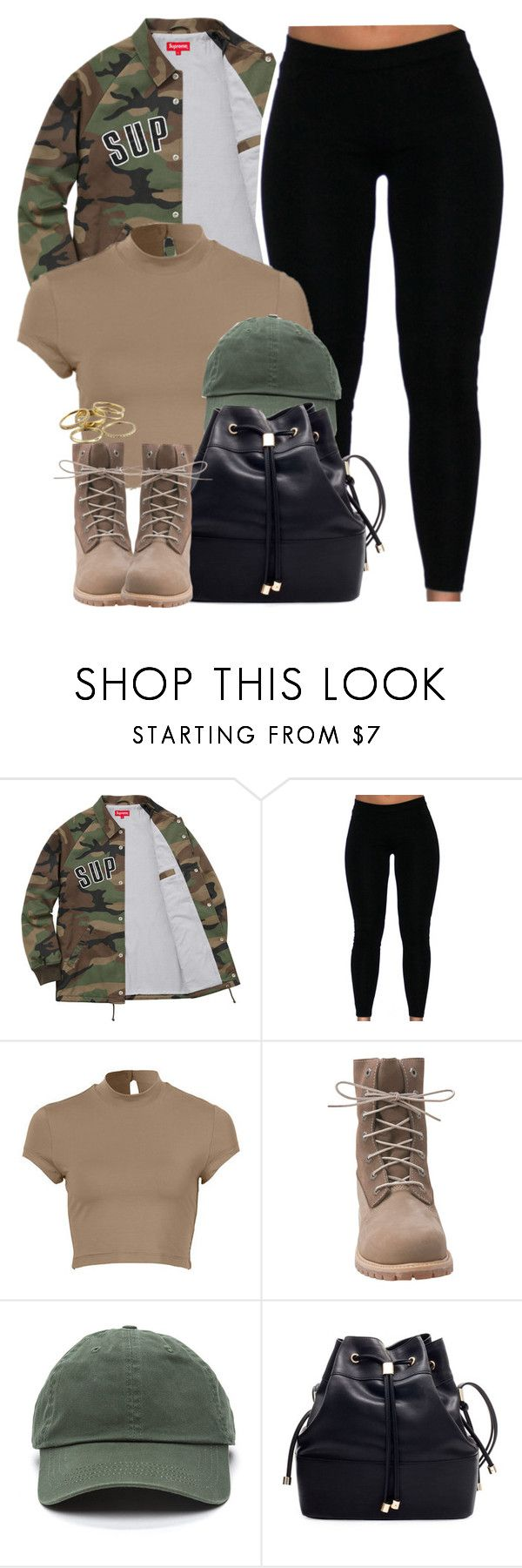 """""""Supreme being ."""" by cheerstostyle ❤ liked on Polyvore featuring Timberland and Kendra Scott"""