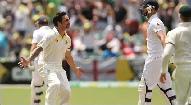 Adelaide Test: Johnson took 7, England out for 172