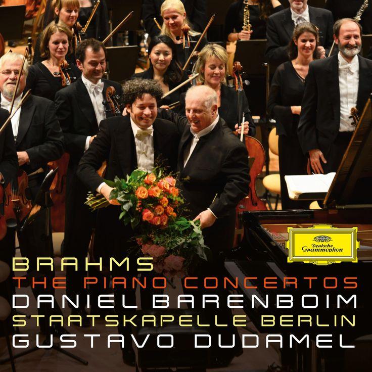 Daniel Barenboim and Gustavo Dudamel, Brahms: The Piano Concertos - Album review