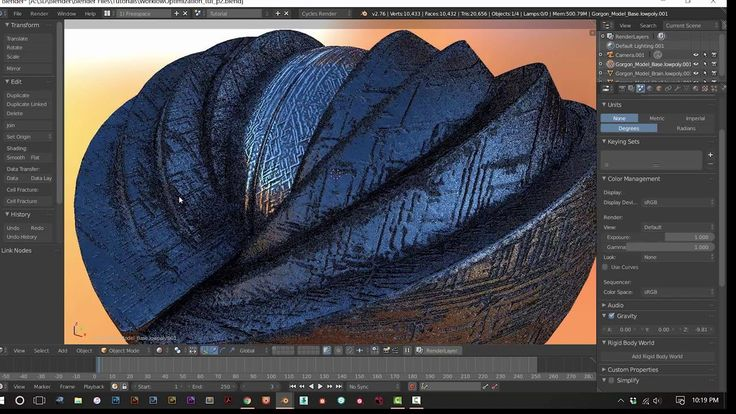 Realistic Lighting, Shading and Texturing Workflows in Blender 3D -- Par...