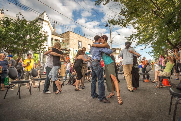 Kensington Pedestrian Sundays Tango in the Streets