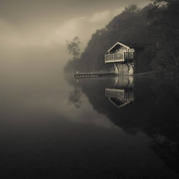 The Boathouse The Duke of Portland boathouse, Ullswater is photographed by Mark Littlejohn. https://500px.com/photo/7671285/the-boathouse-by-mark-littlejohn?from=user