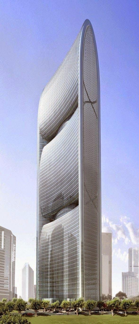 Saint Louis Arch Canton Tower in Guangzhou , China Bank of China Tower, Hong Kong Pearl River Tower Tokyo Sky-Tree b...