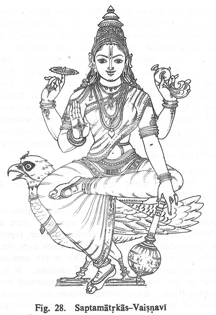 Goddess Lakshmi Coloring Pages