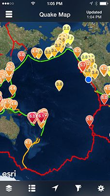 QuakeFeed app. Provides information on earthquakes happening all around the world! You can customise your own Push Notifications. Earthquakes, Prepper, Natural Disasters, Prepping Australia #Earthquakes #NaturalDisasters #PreppingAustralia