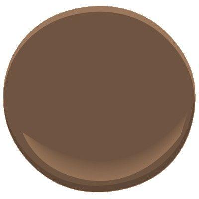 Benjamin Moore brown tar