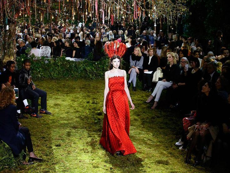 Dior designer debuts Paris couture as Dunst talks girl power