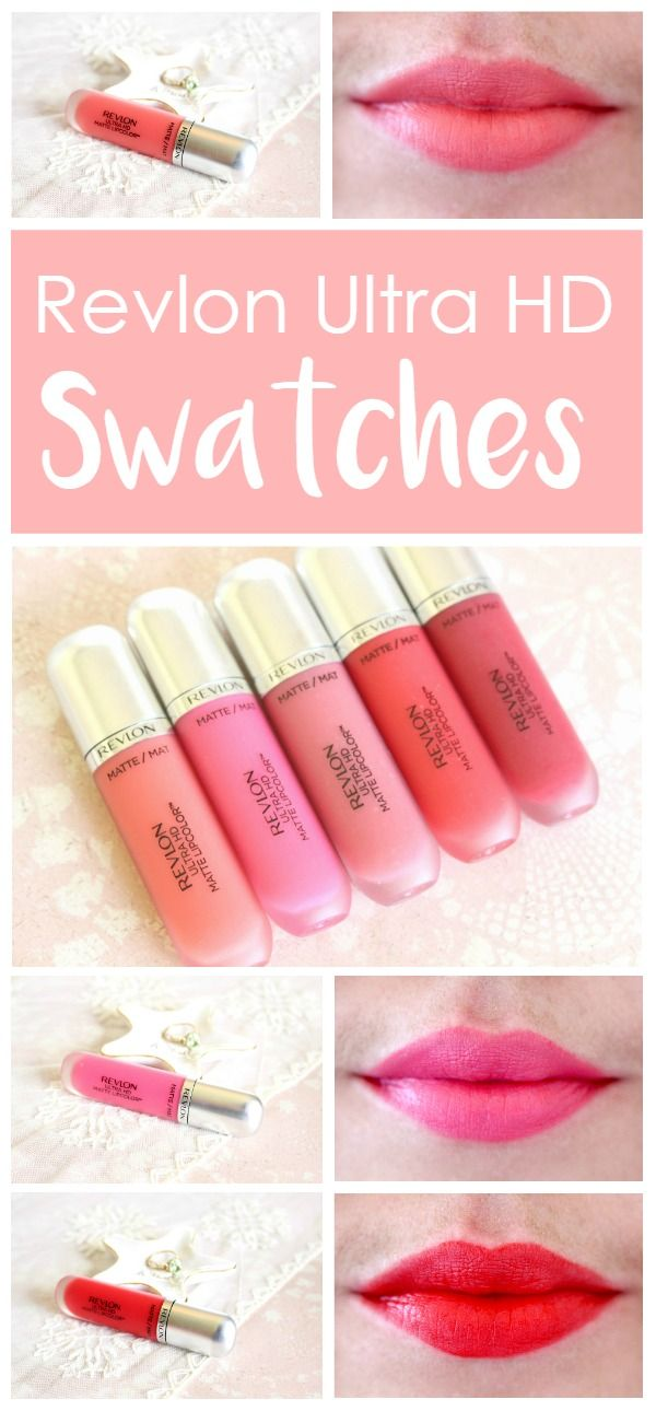 The Revlon Ultra HD Matte Lopcolor collection is one of my favorite liquid lip products on the market! They are so comfortable and long lasting! This blog has some beautiful swatches.