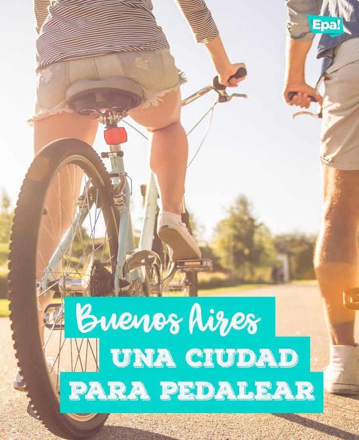Buenos Aires: Una ciudad para pedalear. #buenosaires #bici #bicicleta #pedalear #pasear #viajar #transporte #epaclub