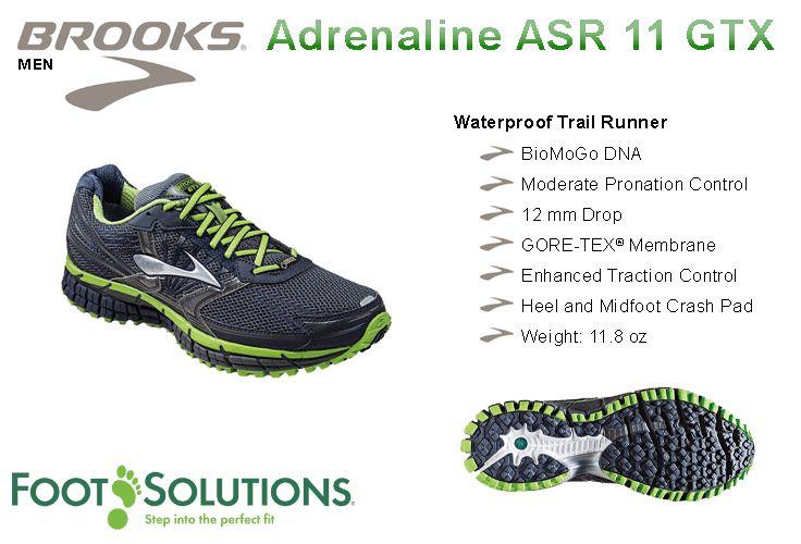 Brooks Adrenaline ASR 11 GTX - Men // Autumn 2014