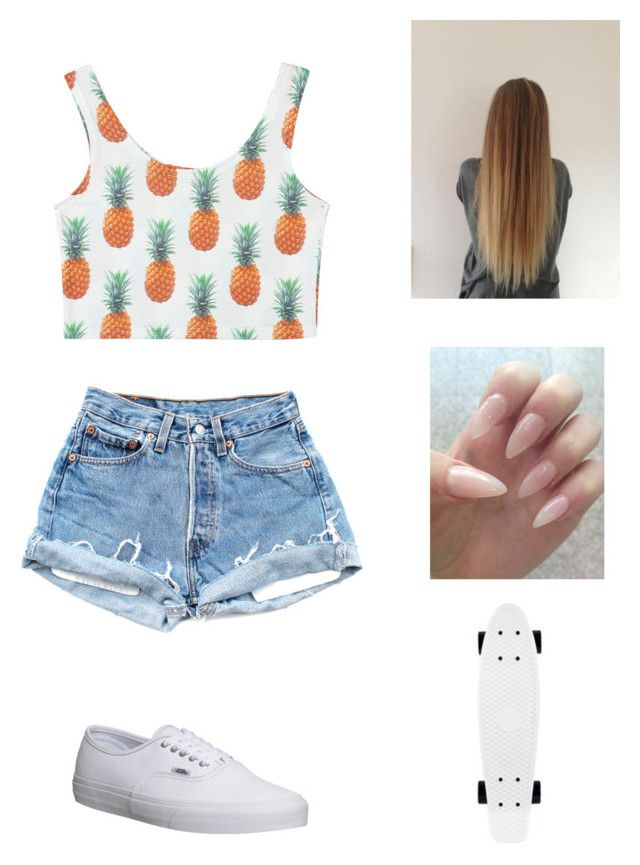 by itslacybabe on Polyvore featuring polyvore, fashion, style and Vans