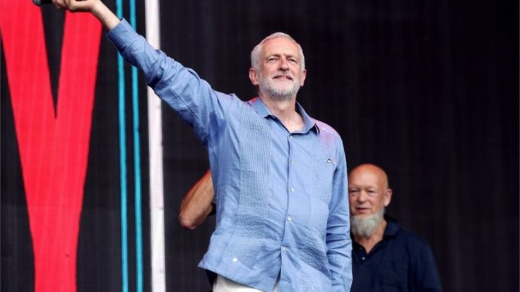 Image copyright                  PA             Image caption                                      The Labour leader was introduced on stage by Glastonbury Festival founder Michael Eavis                               Jeremy Corbyn said he had been inspired by how many young... - #Corbyn, #Glastonbury, #Inspired, #Jeremy, #Voters, #World_News, #Young