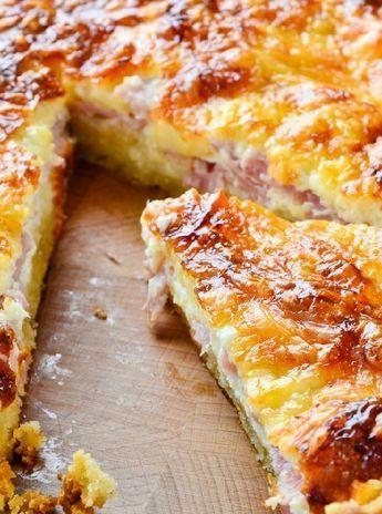 Low FODMAP and Gluten Free Recipe - Quiche Lorraine  - http://www.ibssano.com/low_fodmap_recipe_quiche_lorraine.html