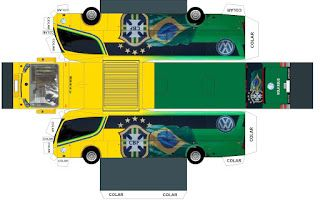 VW Football Bus