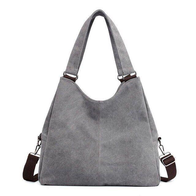 Segeltuchfrauenhandtaschen hobos sondern Schulterbeutelweinlese festes multipocket crossbody beiläufige große Tasche bolsa aus