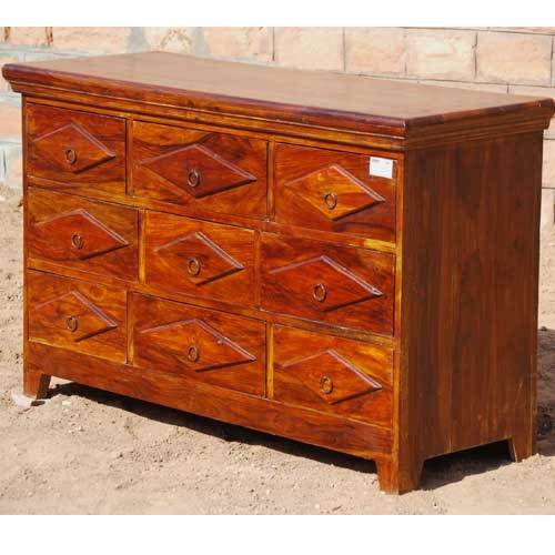 Handmade Wooden Bedroom Storage Dresser Chest Of Drawers