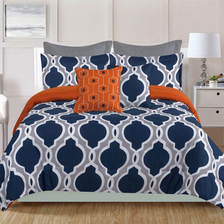 best 25 navy orange bedroom ideas on pinterest orange blue living room decor blue orange. Black Bedroom Furniture Sets. Home Design Ideas